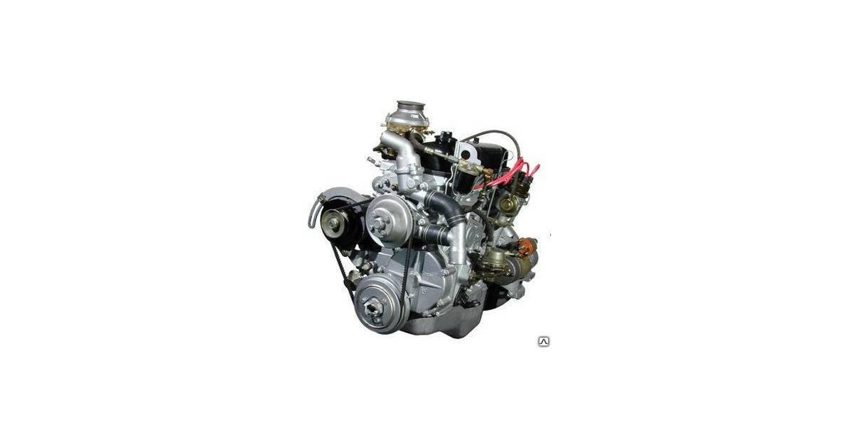 Двигатель 4178 на УАЗ (А-92, 82 л.с.)